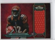 Mohamed Sanu 2012 Topps Triple Threads RC Rookie JSY Relic Card, /99 Falcons