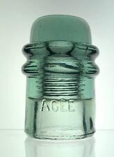 AGEE Aqua Antique Glass Insulator