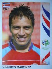 Panini 42 Gilberto Martinez Costa Rica FIFA WM 2006 Germany