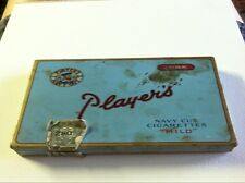 Antique Cigarette Tin Sky Blue Player's Navy Cut