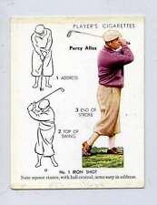 (Lt063-378)  Players, Golf, No 1 Iron Shot, Percy Alliss, # 2, 1939, G