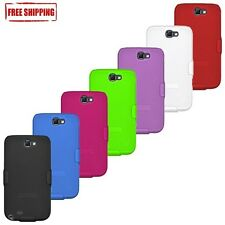 AMZER HARD SHELL CASE COVER + BELT CLIP HOLSTER FOR SAMSUNG GALAXY NOTE 2 N7100