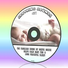 HELP BABY/TODLER SLEEPING WHITE NOISE AUDIO CD SOOTHES CALMS COLIC CRYING NEW