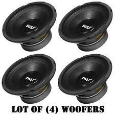 "Lot of (4) Pyle PPA8 500W 8 Ohm Professional Premium PA 8"" Woofers DJ Pro Audio"
