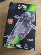Star Wars POTF Boba Fett's Slave One neuf non scellé non utilisé