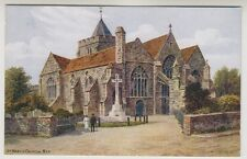 Sussex (East) postcard - St Mary's Church, Rye - ARQ No. 3079