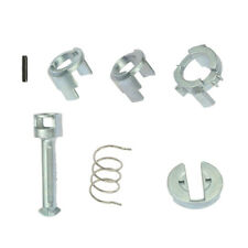 Silver Metal Front Door Lock Cylinder Repair Kit Parts For BMW E46 3 Series
