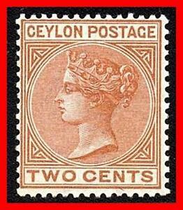 Ceylon 1864 VICTORIA SC.#38 MH HR GUM CREASE CV. do YOU have IT? (D1)