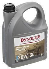 CLASSIC DYNOLITE 20W/50 MULTIGRADE  ENGINE OIL 5 LITRES GGL812150  M/ MINOR