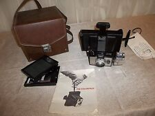 Vintage Polaroid THE COLORPACK Instant Land Camera w/ Case & Manual