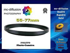 Bague D'adaptation Pour Filtre 55-77mm - Objectif 55mm - Filtre 77mm