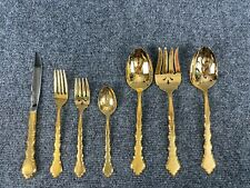 New Listing* Oneida Community * Golden Duet Gold Electroplate Flatware Your Choice New