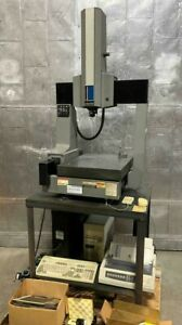 Brown & Sharpe MicroVal XYZ CMM Machine with Renishaw and Manuals