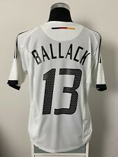BALLACK #13 Germany Home Football Shirt Jersey 2002-2004 (L)