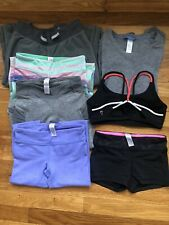 Lot Of 7 Ivivva Tops & Bottoms Size 8