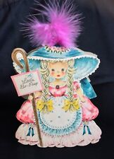 1947 Hallmark Doll Card Land Of Make Believe Series #1, Little Bo-Peep