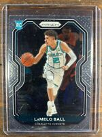 LaMelo Ball Basketball Rookie Card #278 Panini Prizm Charlotte Hornets RC NBA