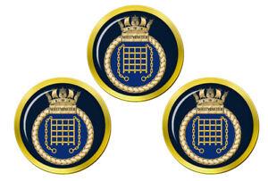Hms Westminster, Reale Blu Scuro Palla da Golf Marcatori