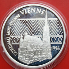 France: 100 Francs-15 Euro 1996 Silber, KM# 1140, PP-Proof, #F 0473. Only 20k
