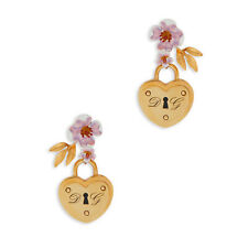 Dolce & Gabbana Flower Earring Made Of Real Brass And Resin