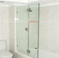 Bathroom Direct OB908 Frameless Bath Shower Screen 900x1500