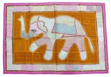 Wall Hanging Vintage Embroidery Decor Elephant Wall Hanging Patchwork Tapestry