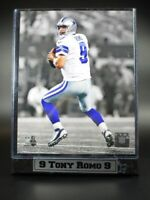 Tony Romo Dallas Cowboys Logo Holz Wandbild 30 cm,Plaque NFL Football NEU