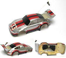 1991 TYCO HO Slot Car BODY PORSCHE TURBO 935 UNUSED RARE 6461 TCR Flag Version