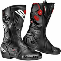 Sidi Roarr Black Red Motorcycle Race Sport Boots New