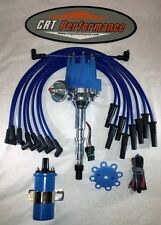 AMC JEEP 290,304,343,360,390,401 small cap BLUE HEI Distributor + COIL + Wires