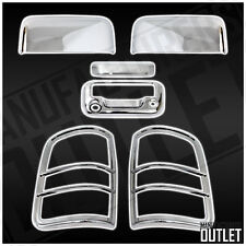 2004-2008 Ford F-150 Top Half Mirror Tailgate w/Cam Hole Taillight Cover Trim