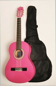 """BEGINNER LEFT HANDED CLASSICAL ACOUSTIC GUITAR 3/4 SIZE (36"""") CLASS 3/4 MPN LH"""