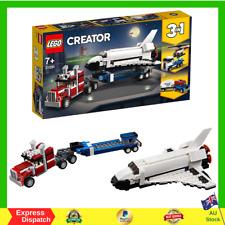 LEGO Creator 3 in1 Shuttle Transporter 31091 Creative Building Toy BRAND NEW AU
