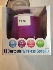 ilive hurricane wireless bluetooth speaker loud PURPLE ipod iPhone apple android