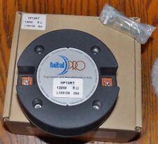 "Faital Pro HF10RT - 1"" Pro Neodymium High Frequency Driver - New"