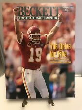 Beckett Football Card Price Guide Magazine 1994 Issue #57