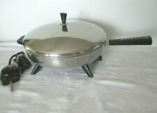 """VINTAGE FARBERWARE ELECTRIC FRYING PAN ~ Model 310-A ~ 12"""" ~ Fully Tested"""