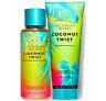 Victoria's Secret Coconut Twist Fragrance Lotion + Fragrance Mist Duo Set