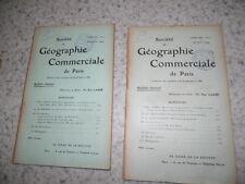 1909.Société géographie commerciale.Congo Zandé Banda.Constantinople..