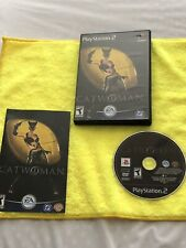 Catwoman (Sony PlayStation 2, 2004) PS2 - COMPLETE, BLACK LABEL, & TESTED!!!