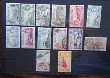 Gibraltar 1953 - 59 set to £1 Used SG145 - SG158