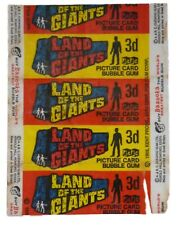 A&BC 1968 Land Of The Giants Single Wax Wrapper