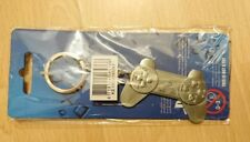 Bioworld - PlayStation Controller metal keychain. New and sealed.