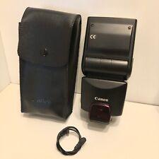 Canon Speedlite 380EX Shoe Mount Camera Flash - Excellent Condition
