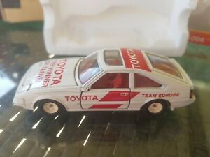 TOMICA DANDY - TOYOTA CELICA XX 2800GT [WHITE] TEAM EUROPE EXCELLENT VHTF JAPAN