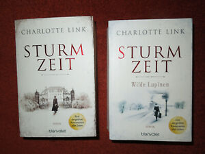 Charlotte Link: Sturmzeit & Sturmzeit - Wilde Lupinen (Roman, blanvalet)