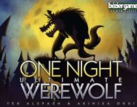 Bezier Game One Night Ultimate Werewolf—Free Shipping Form USA