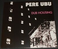PERE UBU dub housing LP new sealed REISSUE ROCKET FROM THE TOMBS david thomas