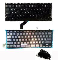 """NEW 13"""" MacBook Pro Retina A1425 US Black Keyboard w/Backlit & Rivet (Screws)"""