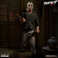 Friday The 13th Part III Jason Voorhees Action Figure 1/12 Mezco Toys